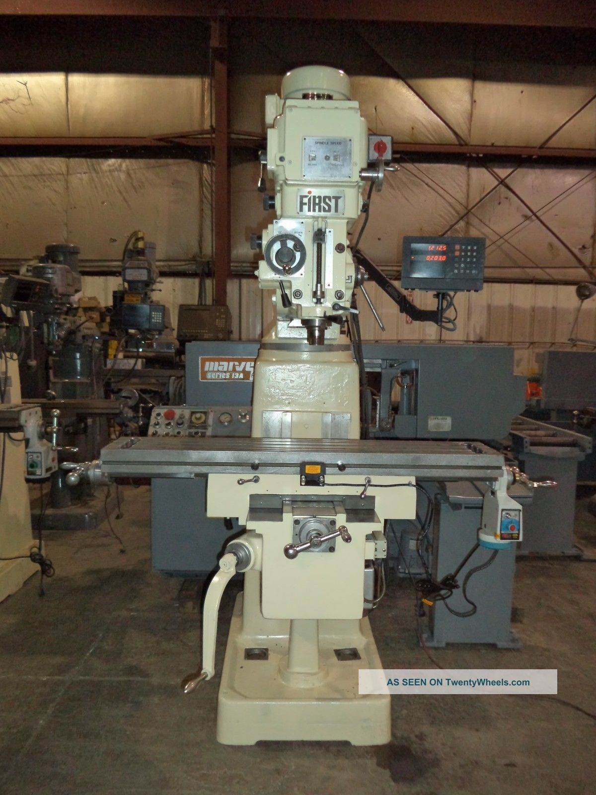 First Model Lc 185vsx Vertical Knee Type Milling