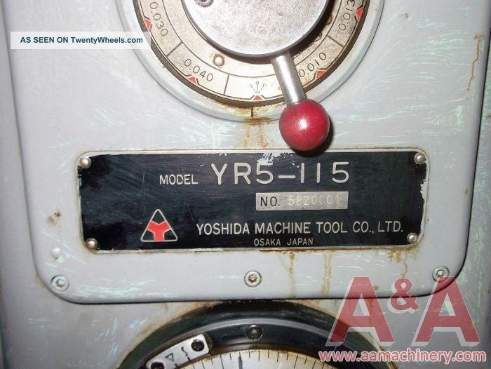 Yoshida Radial Arm Drill 45