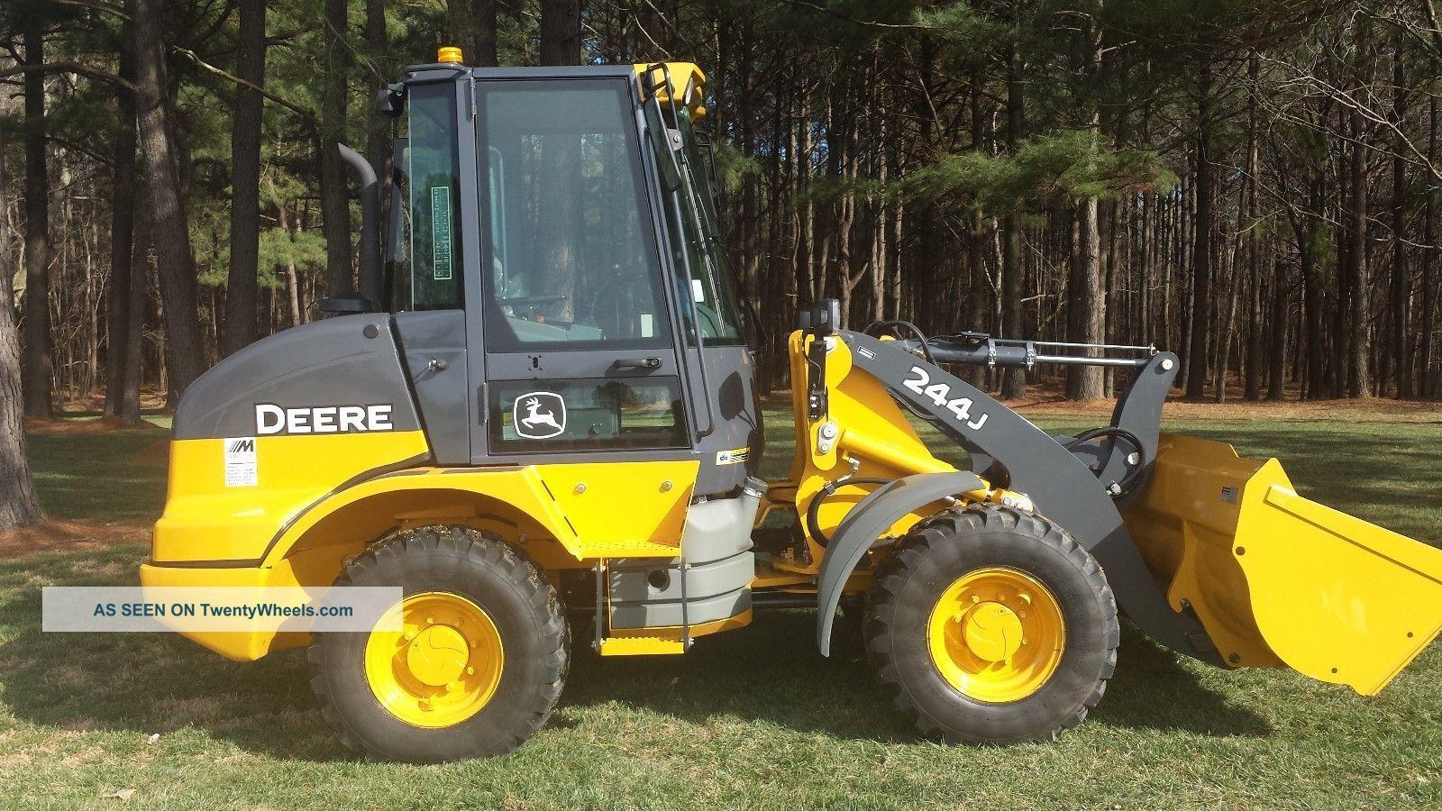 John Deere 244j Attachments : John deere j wheel loader hours