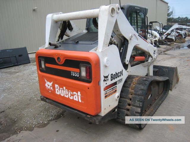 Bobcat Skid Steer Paint : Bobcat t good tracks paint cab std
