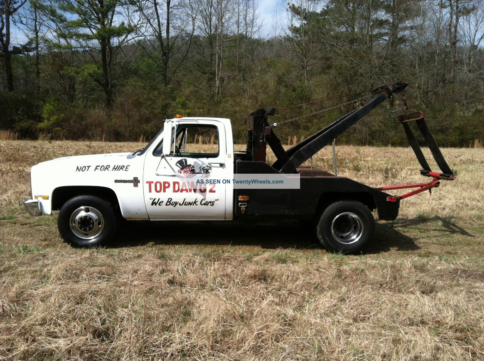 1984 Chevrolet C30 Camper Special Tow Truck Wreckers photo