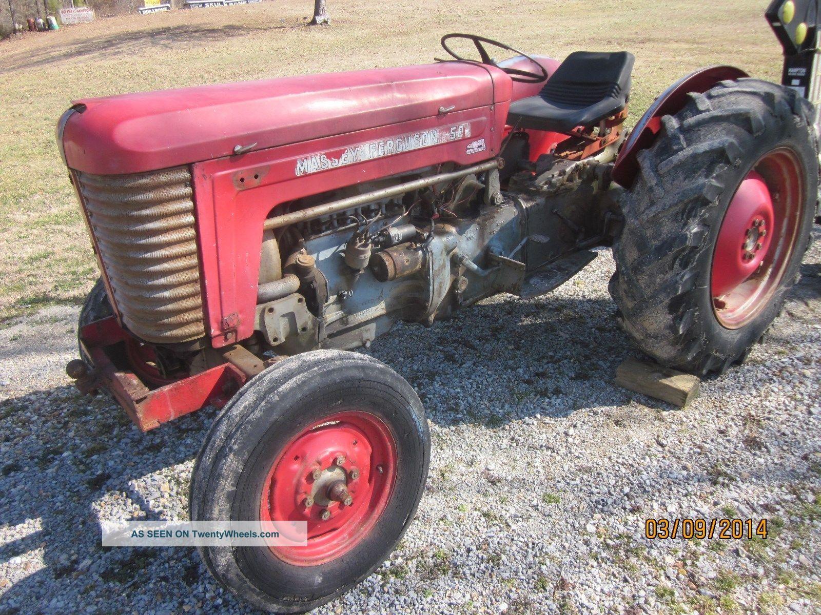 Ferguson 40 Tractor : Massey harris farm tractor similar to ferguson and