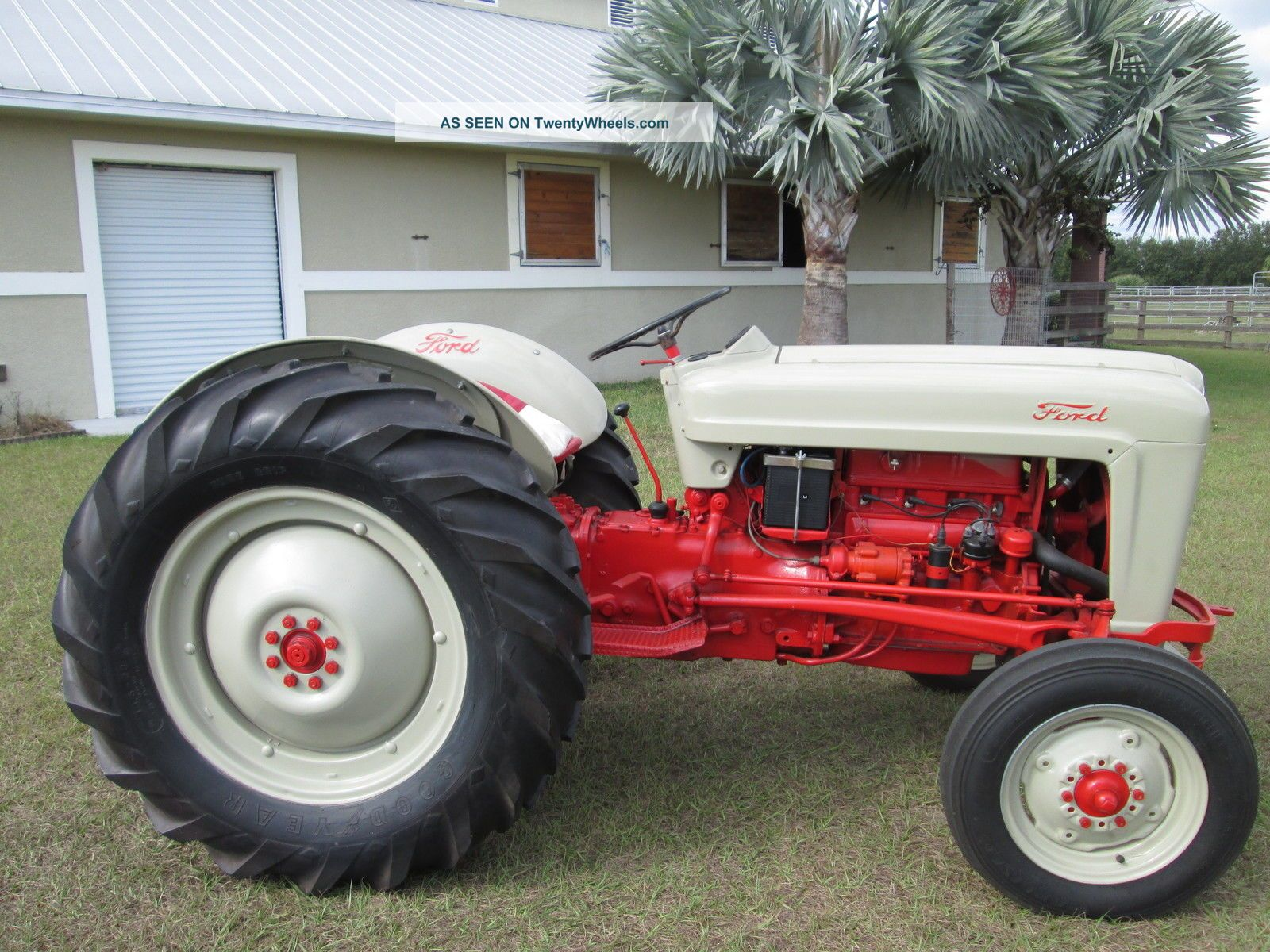 Ford Tractor Jubilee Model : Ford jubilee tractor awesome wow take a look