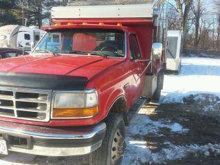 1996 Ford Duty Dump Truck photo