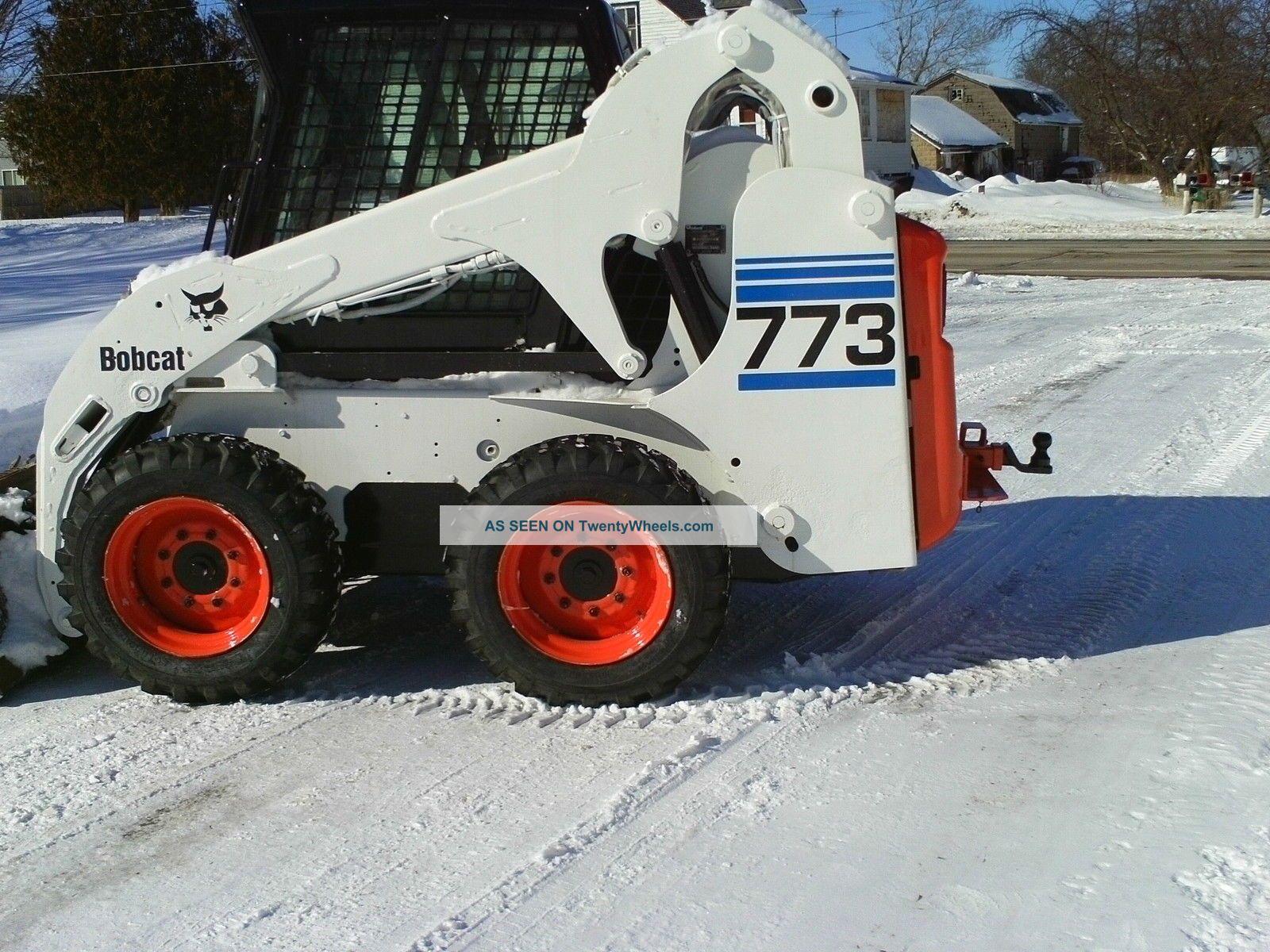 773 Bobcat Cab Amp Heat Powerbobtach Tires Love It