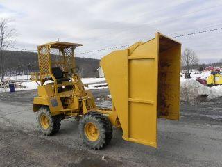 Winget Mini Dumper Articulated Dump Truck 4x4 Diesel Approx 2.  5 Ton Terex photo