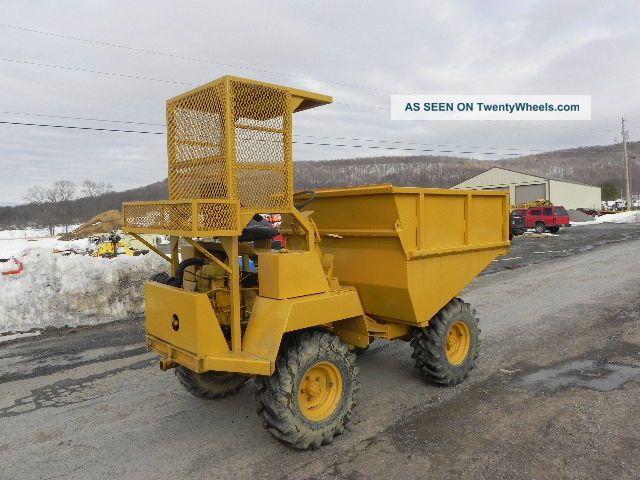 Winget Mini Dumper Articulated Dump Truck 4x4 Diesel