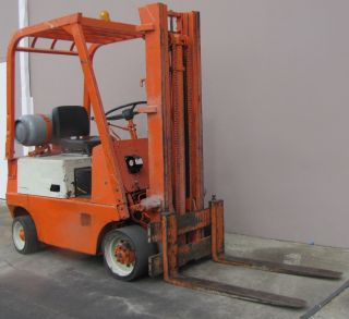 Lb propane forklift lift truck 41 quot fork 128 quot lift height 4814 hrs