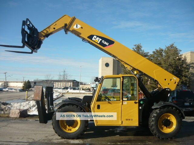 Cat Lift Boom : Caterpillar cat tl reach forklift jlg telehandler full