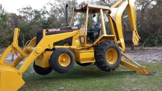 446 - B Caterpiller Backhoe photo
