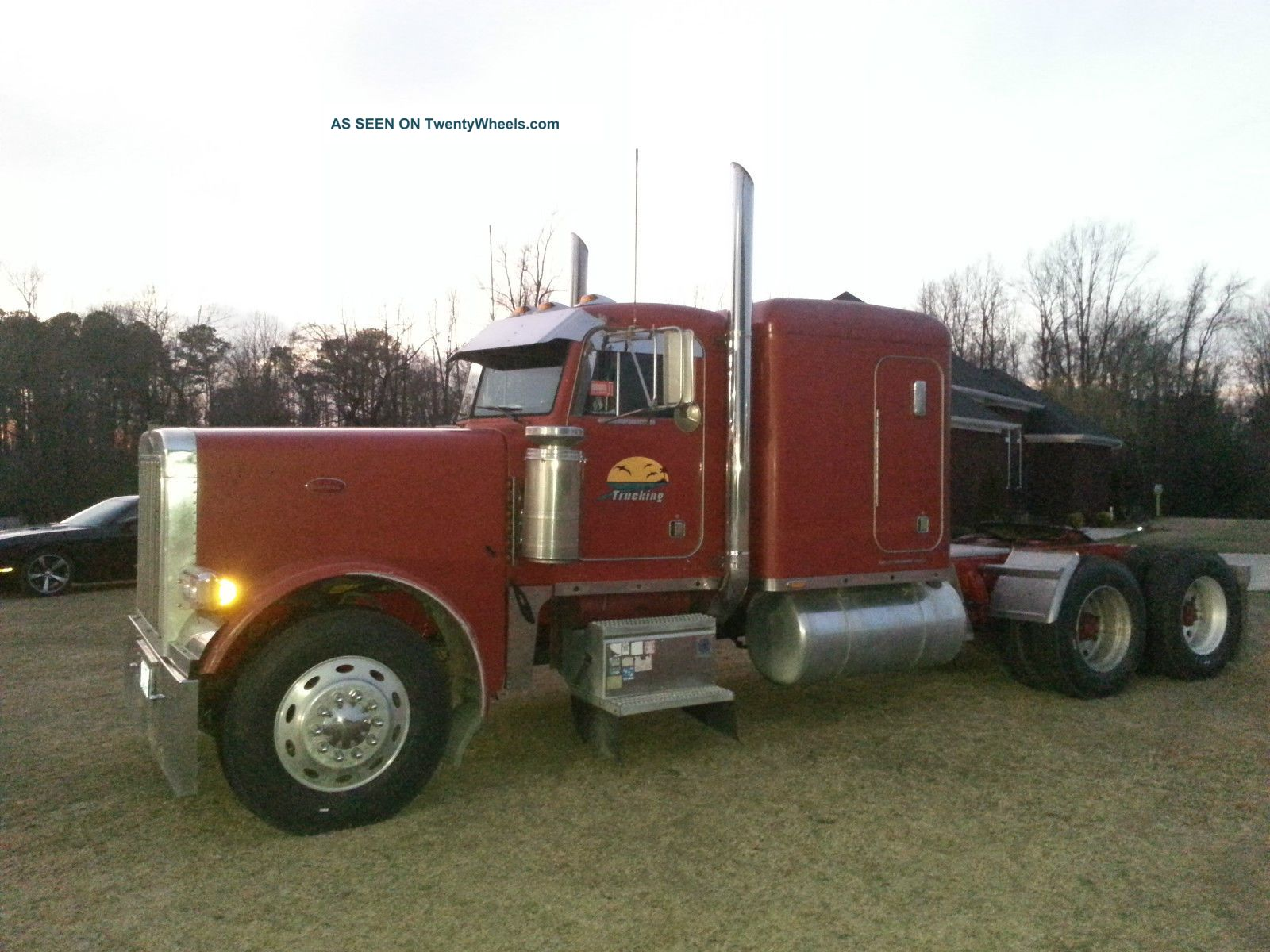 Peterbilt 379 Long Trailer Truck Coloring Page in addition 390 Unlock Tuning Truck further Watch as well Buyuk Tir Boyama Sayfasi further Trucka International Prostar Tractor W Dry Goods Trailer 21243. on peterbilt dump trailers