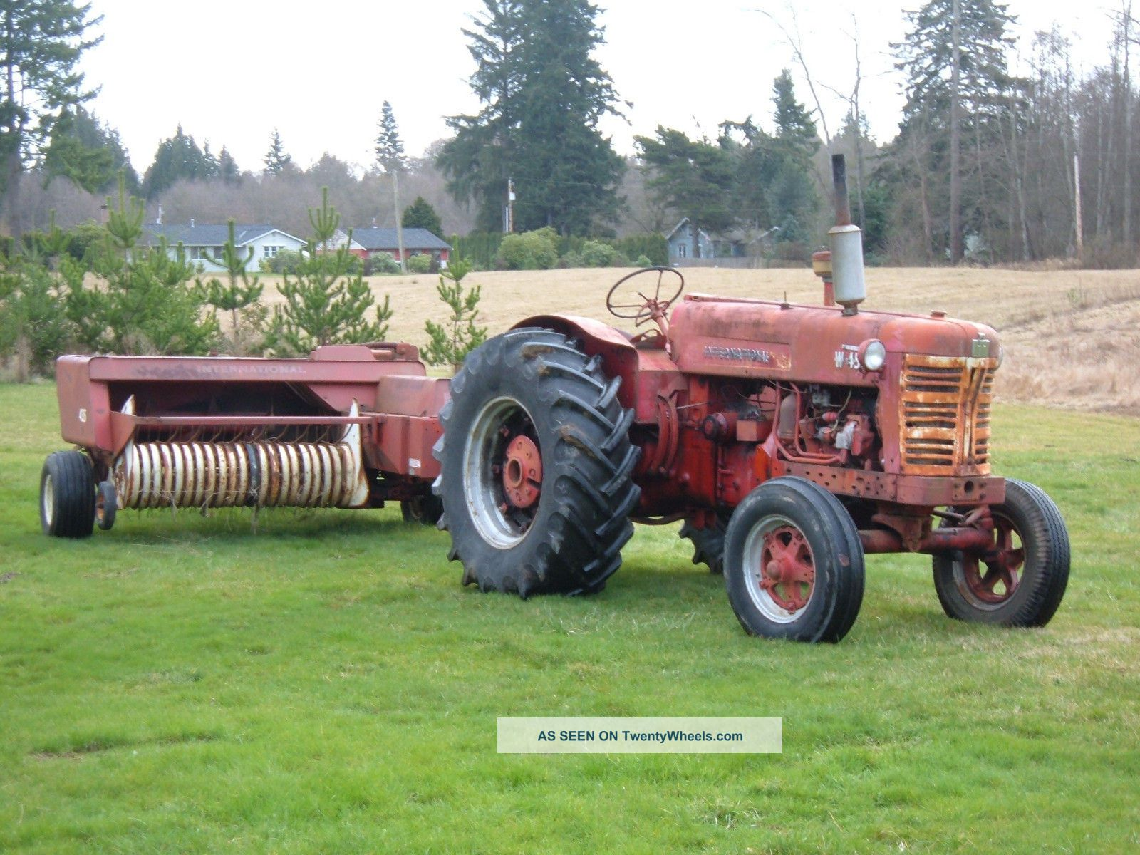 International Harvester W D Tractor Lgw