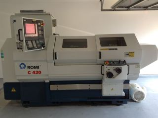 2011 Romi C 420 Teach / Cnc Lathe photo