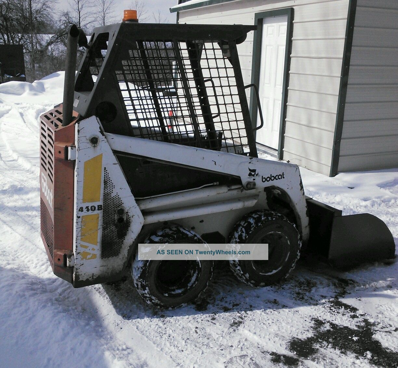 Bobcat Mini Skid Steer : Bobcat mini skid steer b