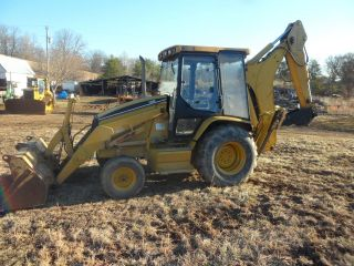 Caterpillar 416c Backhoe photo