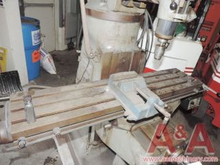 Bridgeport 1 Hp Vertical Mill With Power Feed 24031 photo