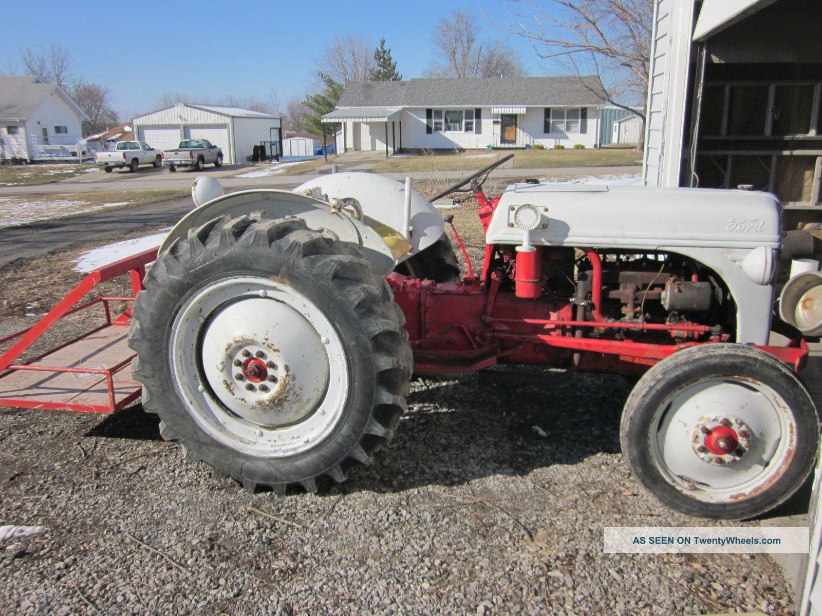 Sherman Backhoes For Ford Tractors : Ford sherman backhoe