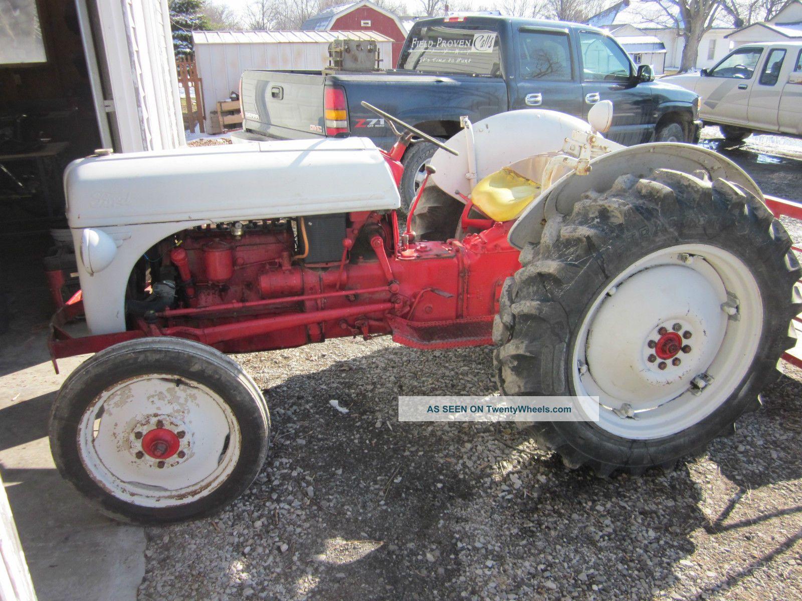 Sherman Backhoes For Ford Tractors : Ford n sherman backhoe