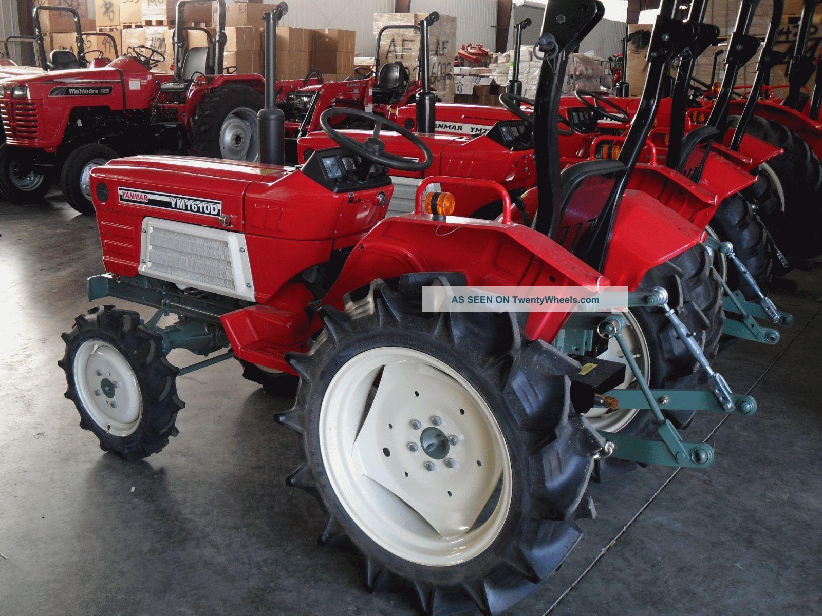 Yanmar Tractor 2 Wheel : Yanmar d wheel drive tractor with