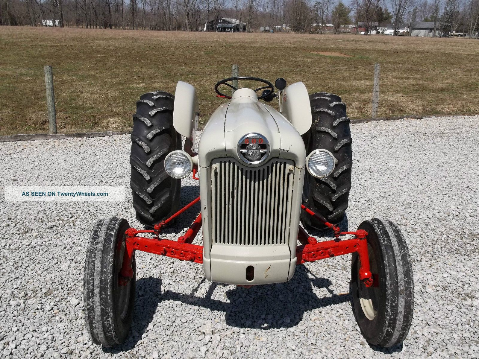 Ford 800 Tractor : Ford tractor restored
