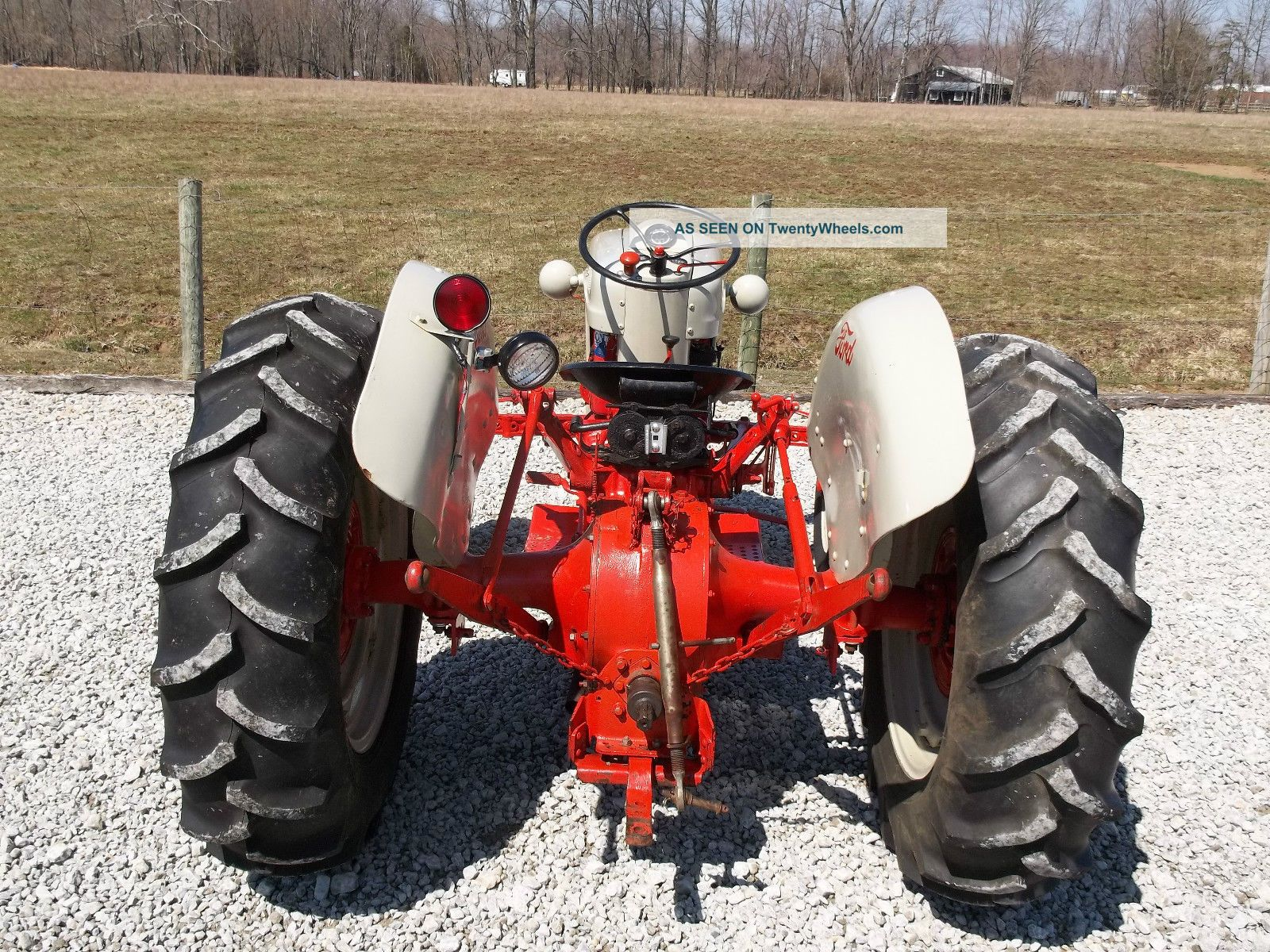 Ford 800 Tractor Information : Ford tractor restored