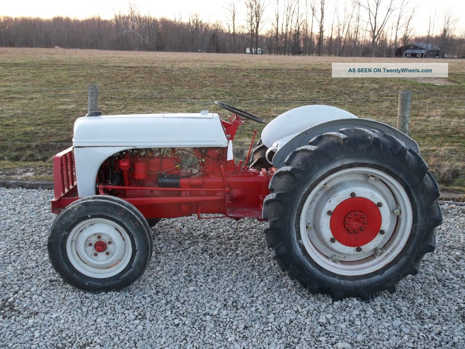 Antique Tractors Ford 9n : Ford n tractor with