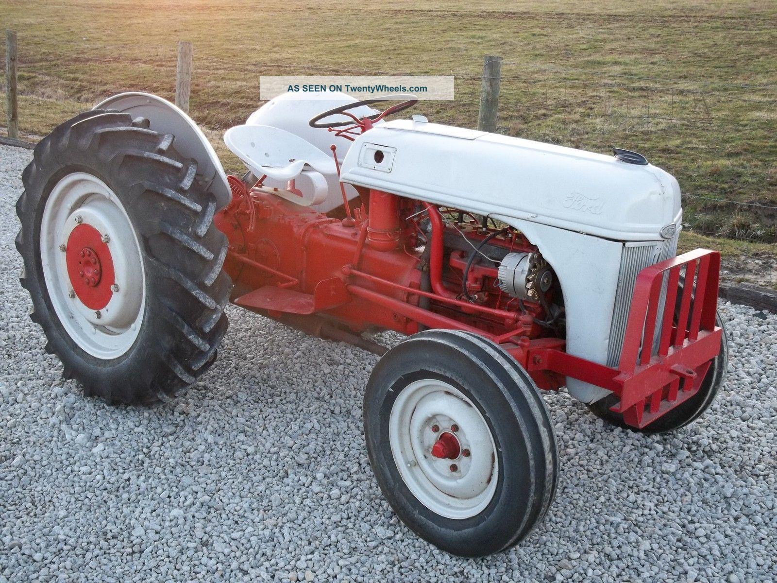 Ford 9n Mower : Ford n tractor with