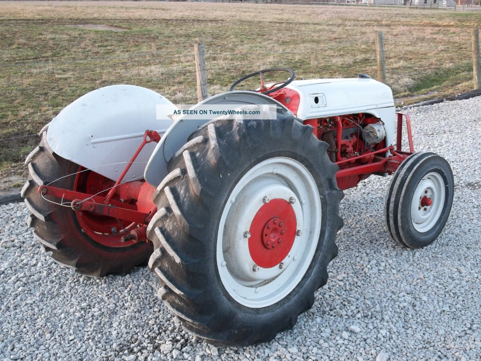 Ford N Tractor With Lgw on Yanmar Tractor Vintage