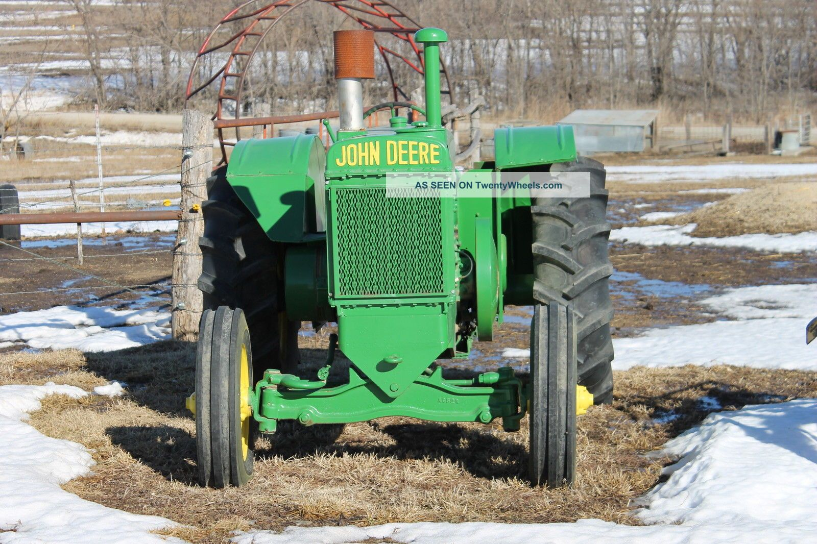 John Deere Tractor Parts, Specs and Information Antique john deere tractor photos