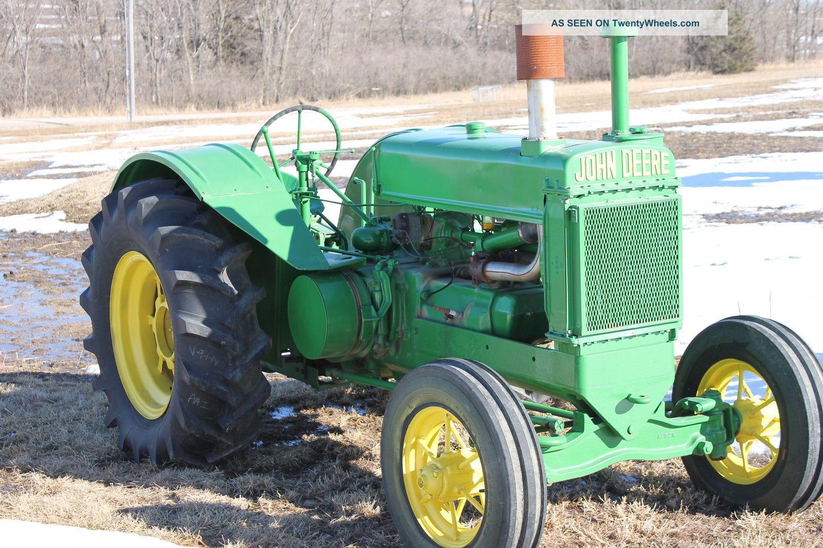 Old John Deere Tractors : Antique john deere tractor