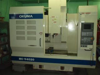Okuma Vertical Mill Mcv 4020 photo