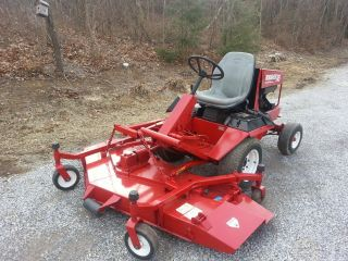 Toro Groundsmaster 345 With 72 In Cut And Powersteering photo