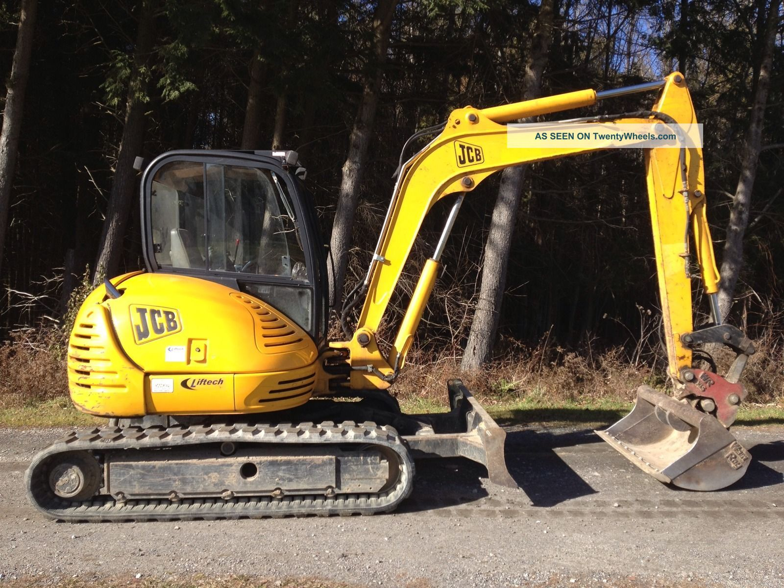 Hunt Tractor Used Backhoe Buckets For Sale For Bobcat