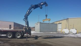 Hiab 250 Articulating Knuckle Boom Crane photo