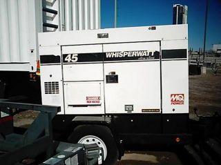 2006 Multiquip 45usi Ultra Silent Towable Generator - Diesel photo