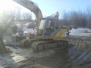 Kobelco Sk130 Excavator photo