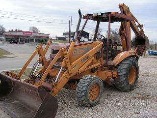 Case 580 K Loader Backhoe 4x4 photo