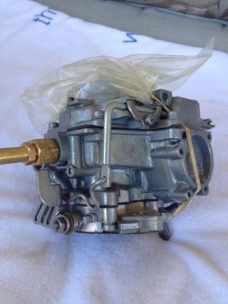 Holley 9510 Carburetor For Ford Industrial 6 Cyl Wood Chipper,  Rebuilt W/ Spacer photo
