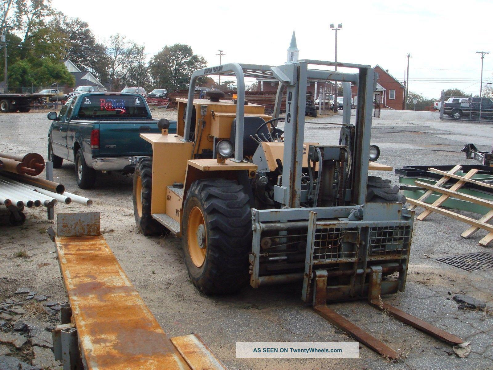 Dtc Rt8606 Rough Terrain Military Forklift