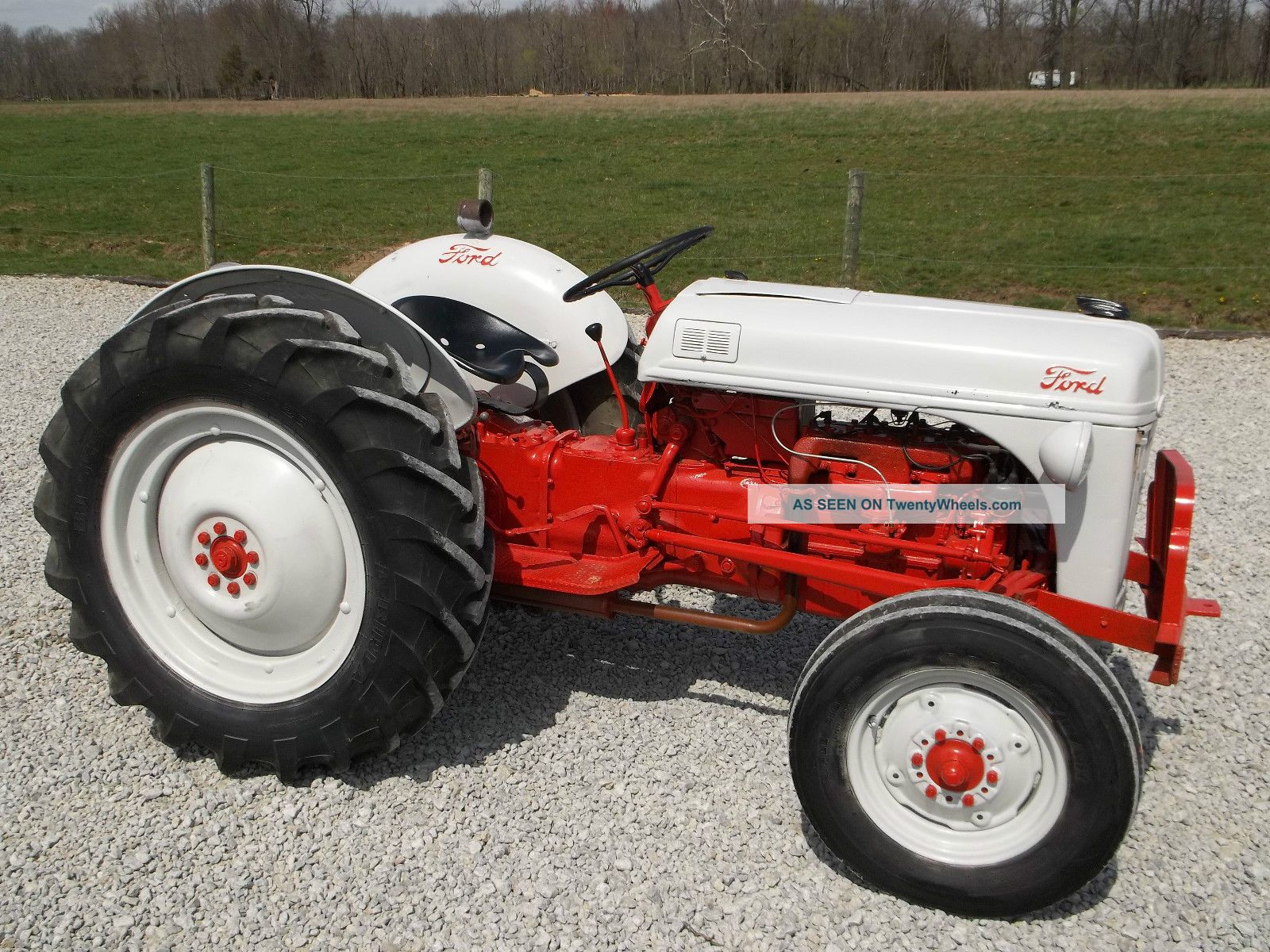 Ford 8n 9n 2n Tractor Electrical System Antique Tractors