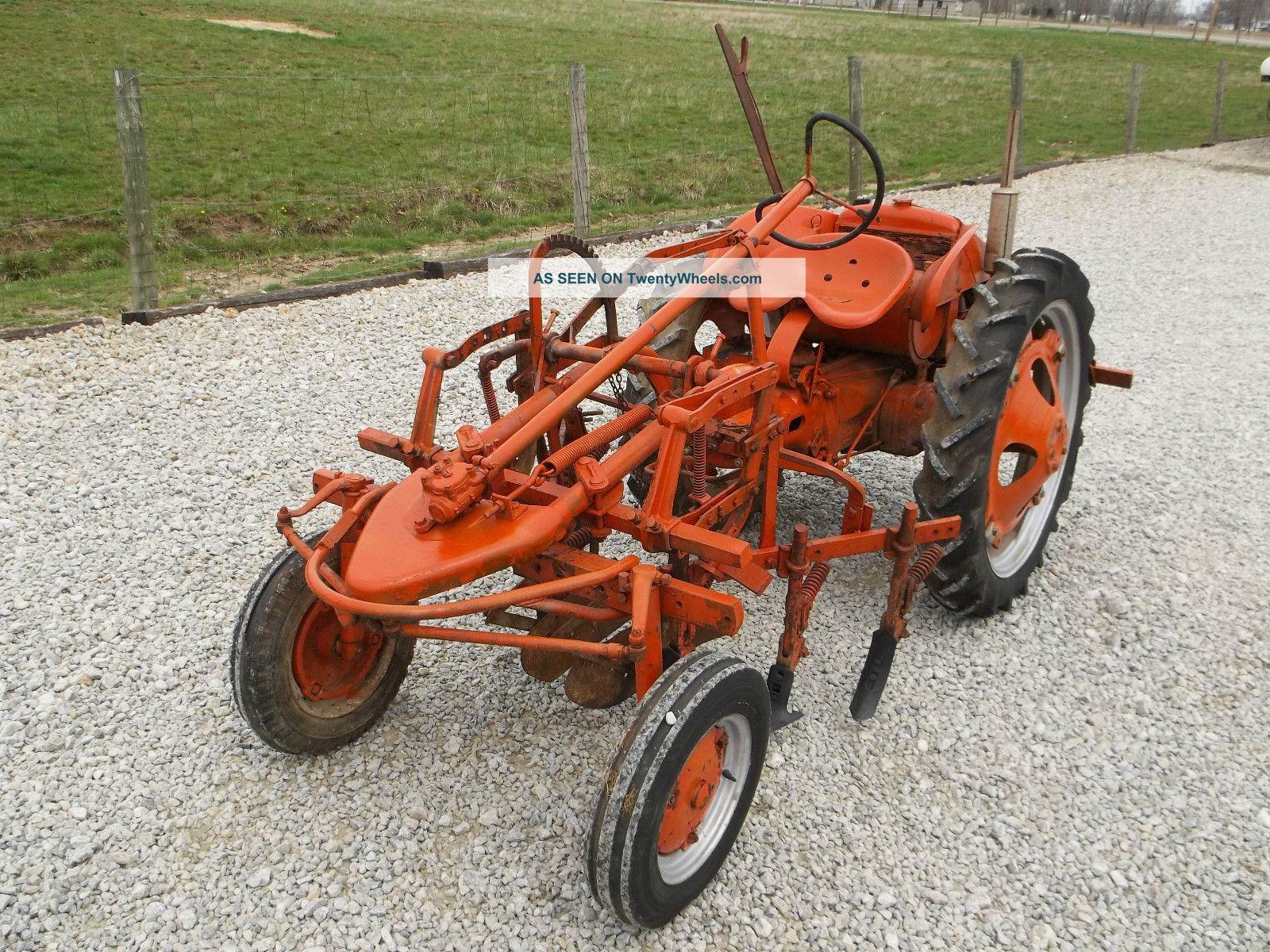 Allis Chalmers G Tractor : Allis chalmers g antique tractor