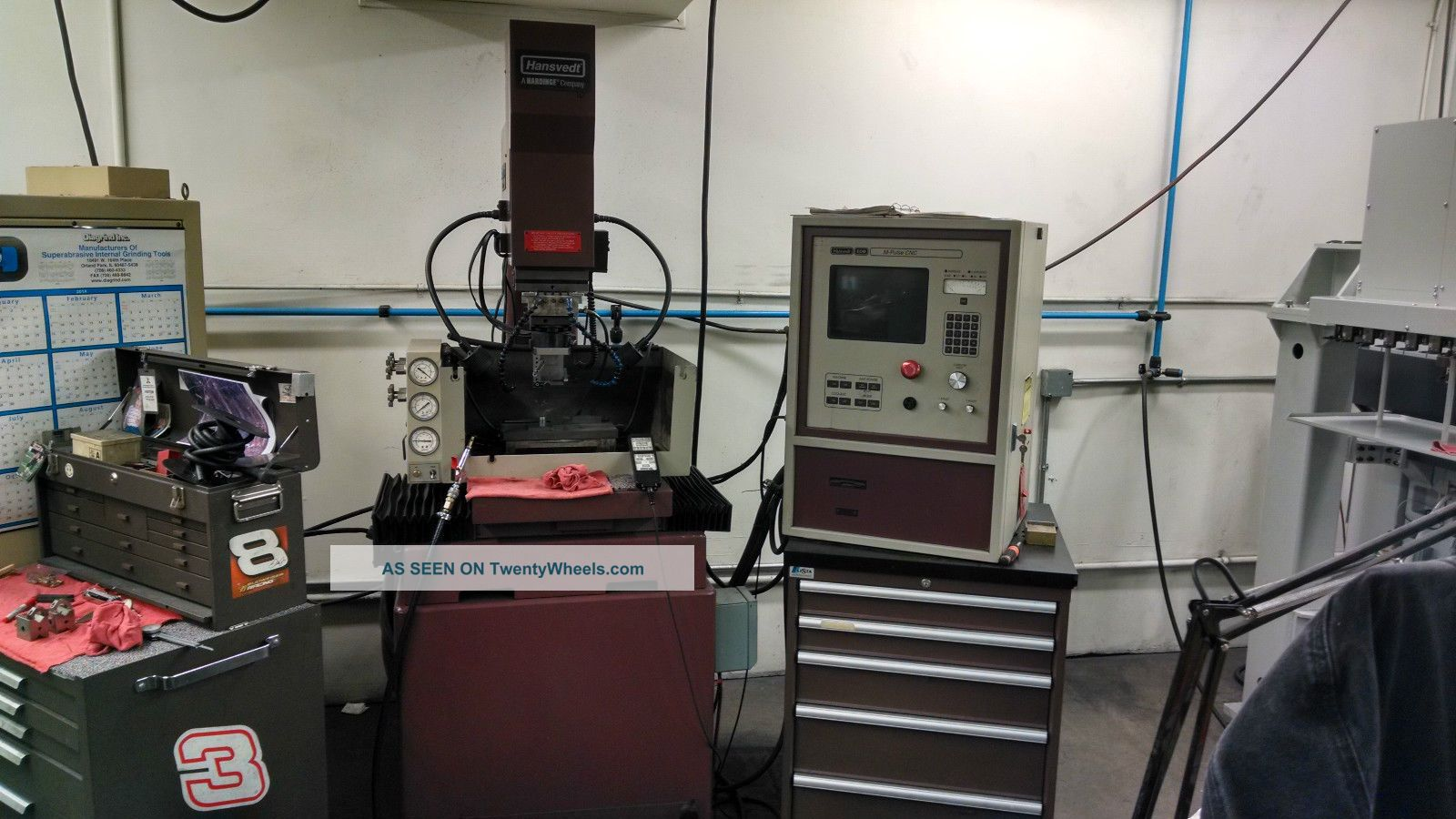 Hansvedt M - Pulse Ms - 4/3050 Edm Machine EDM Machines photo
