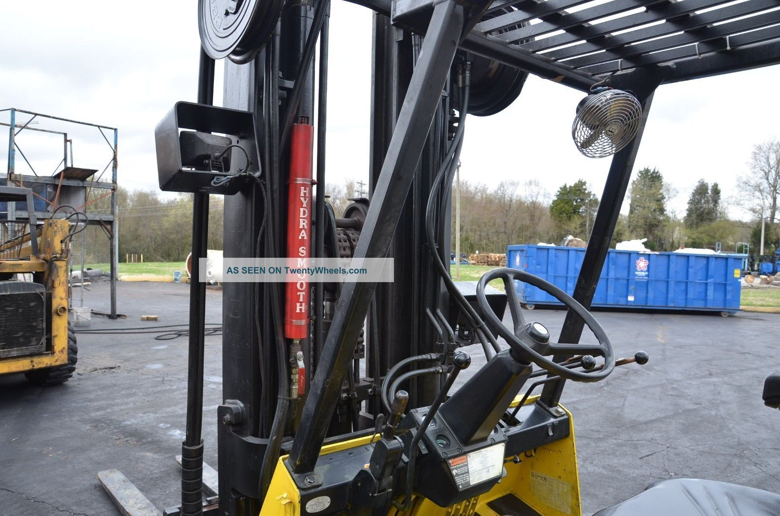 Fork Lift Foot : Hyster pound s xl forklift hours