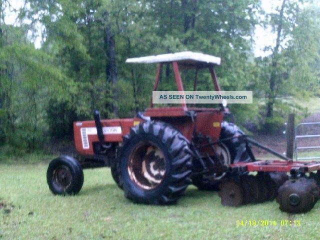 Fiat Hesston Tractors Farm : Hesston fiat