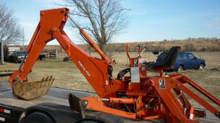 Kubota Backhoe Model L4560 W/pump photo