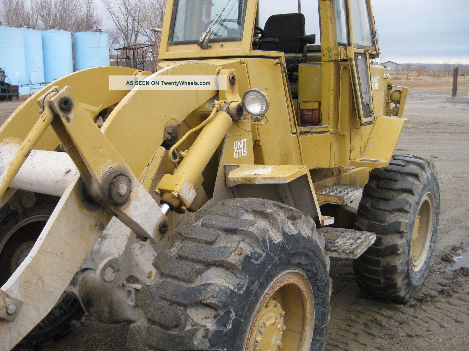 Case 1845c Specs >> Cat 920 Wheel Loader