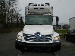 2007 Hino 338 - 5 Ton Reefer Truck photo