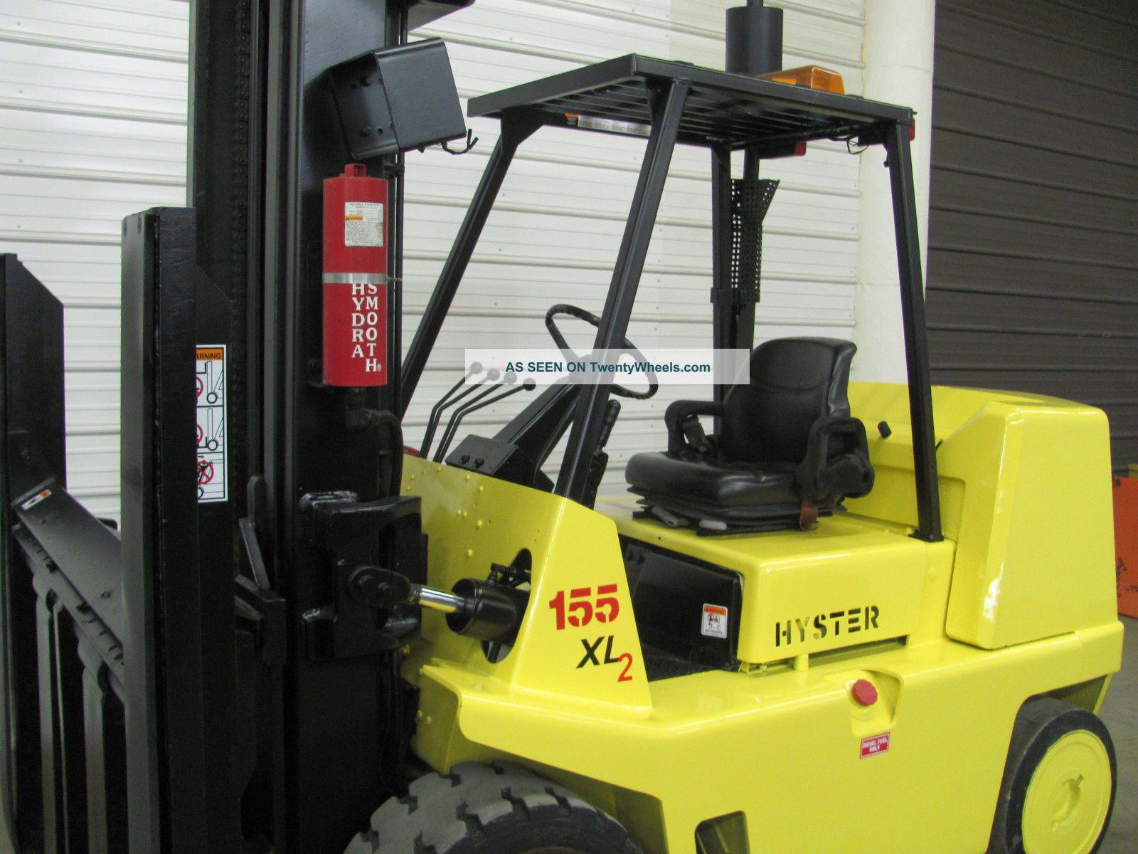Case 1845c Specs >> Hyster S155xl Cushion Forklift, 15, 000 Lb Two Stage Lift ...