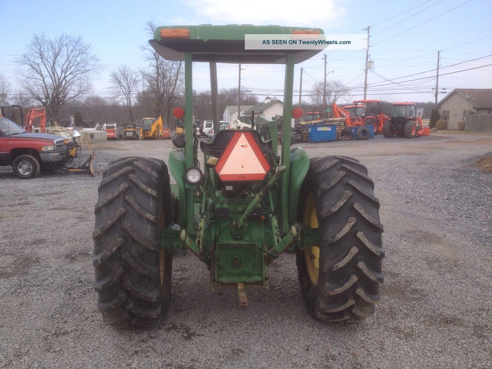 John Deere 2150 2wd Utility Tractor W Jd 175 Loader