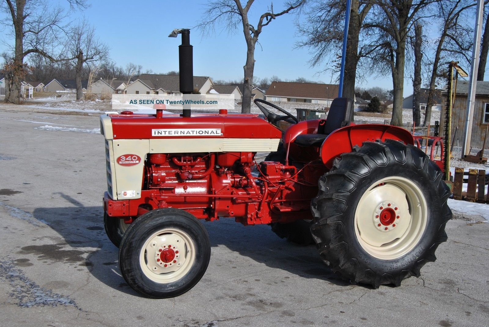 Ih 340 Utility Tractor Parts : International related keywords suggestions